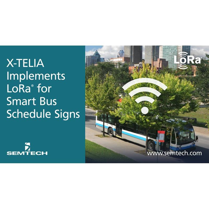 Canada: LoRa enabling smart bus shelter signs in Montreal