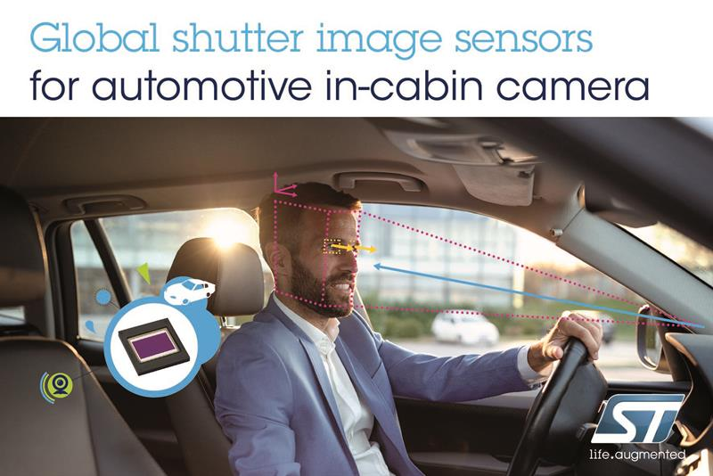 Advanced image sensors from STMicroelectronics