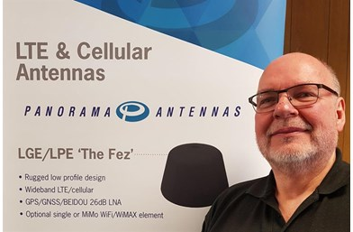 60 seconds with Panorama Antennas' John Thomson