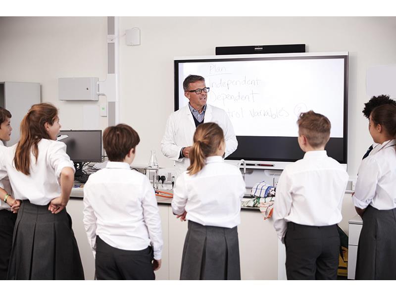 Effective teacher modelling