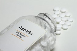 The use of aspirin to treat people with diabetes