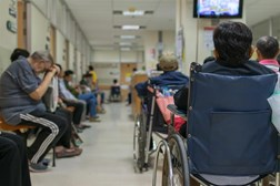 Record high number of people going to A&E