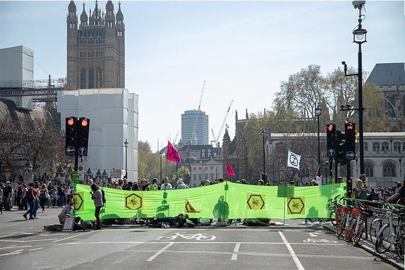 Extinction Rebellion protest ban ruled unlawful