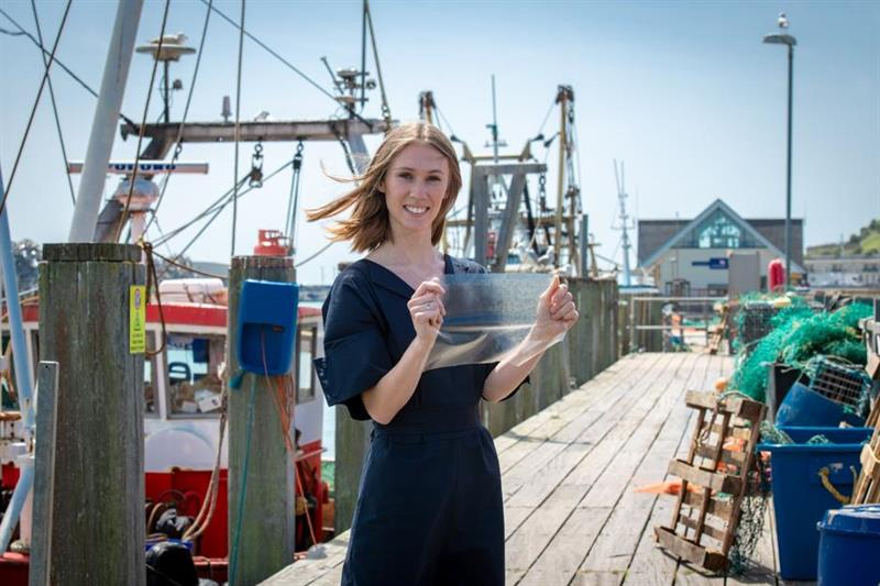 Marine bioplastic scoops James Dyson award