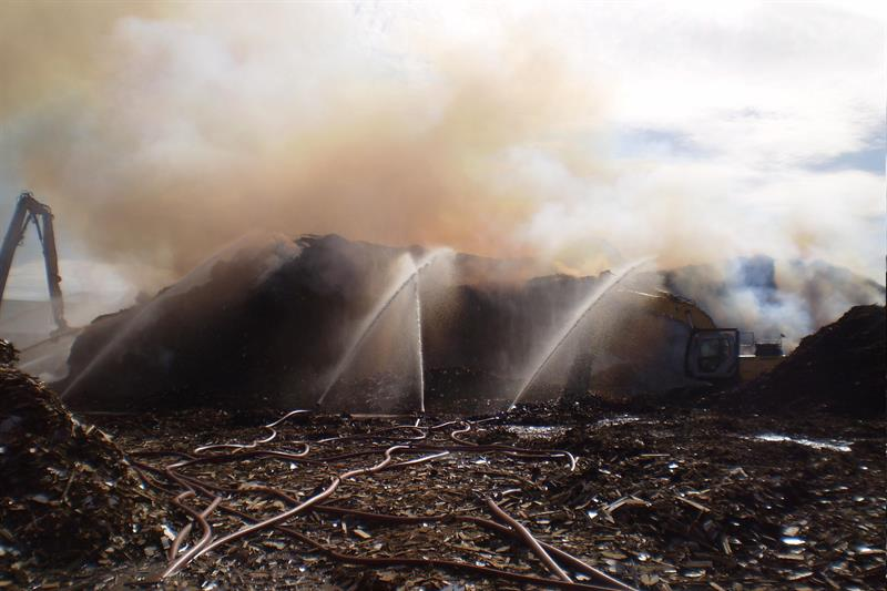 Wood recycling company fined £200,000 after major preventable fire