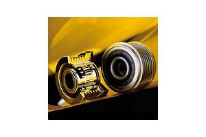 Overrunning alternator pulley improves internal combustion
