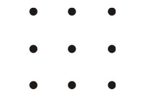 The 9 Dot Puzzle