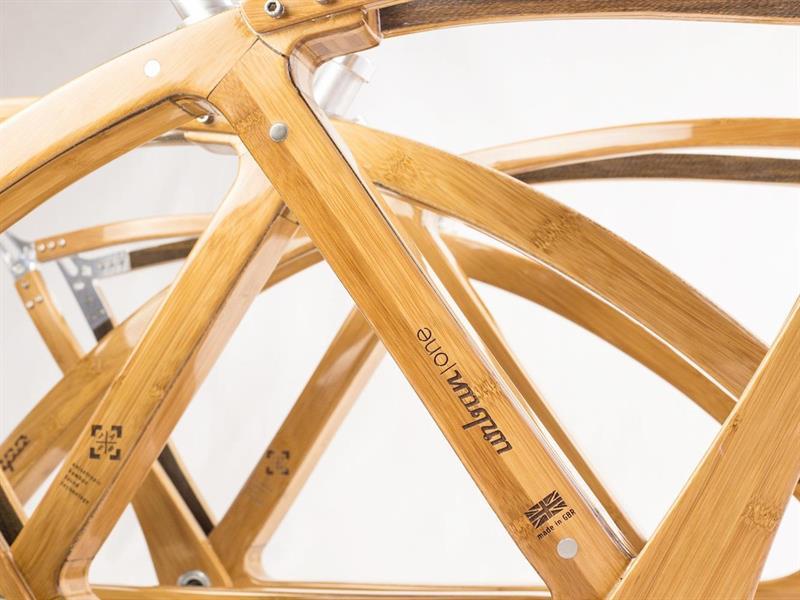 Bamboo Bike Uses Flax And Wood Composite