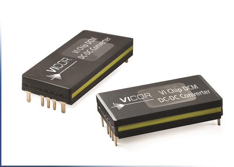 Vicor Expands Dcm Dc Dc Converter Module Series