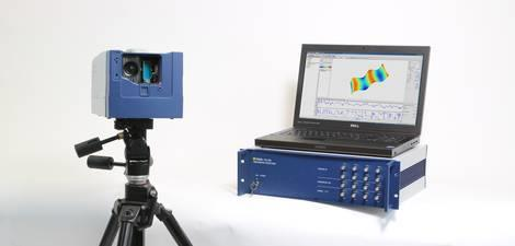 PSV-500 Notebook scanning vibrometer is portable