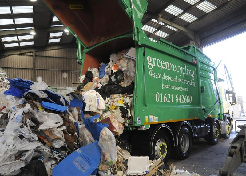 Recycling rates in England increase by 1%, reveal