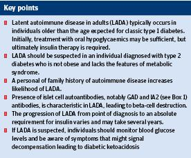 Opinion latent autoimmune diabetes in adults emedicine