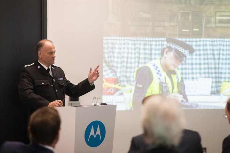 New public safety software and services shown at Motorola Solutions