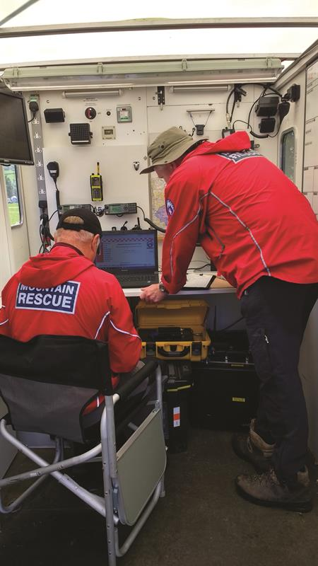 Swaledale Mountain Rescue's DMR Tier III system - a backup