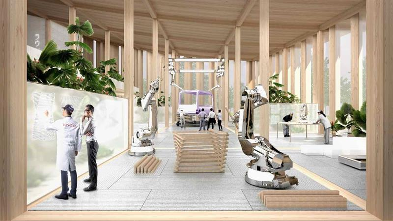 Toyota's Woven City will house robots alongside 2,000 members of staff and their families