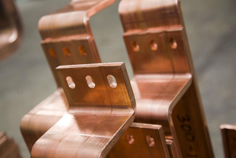Busbars manufactured at HV Wooding