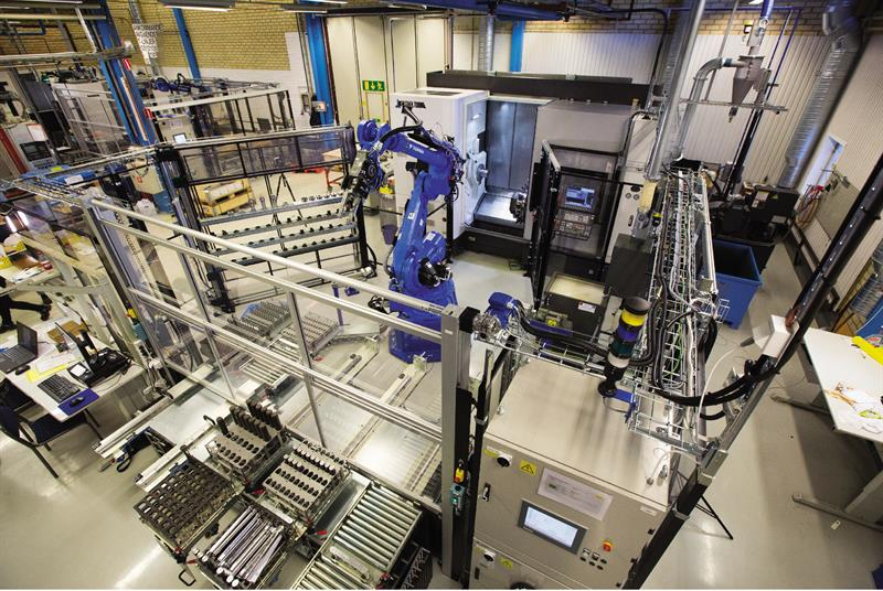 Machinery - At its Gima, Sweden, factory, Sandvik Coromant