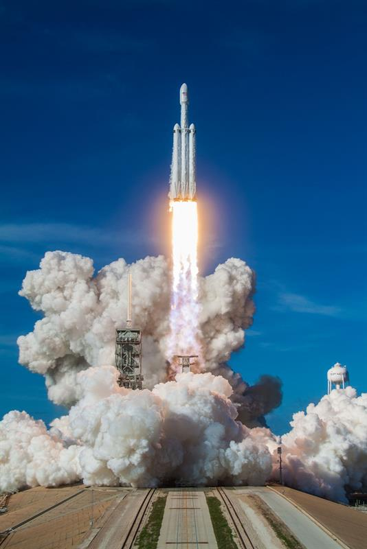 SpaceX's Falcon Heavy launch isn't just another step for Elon Musk
