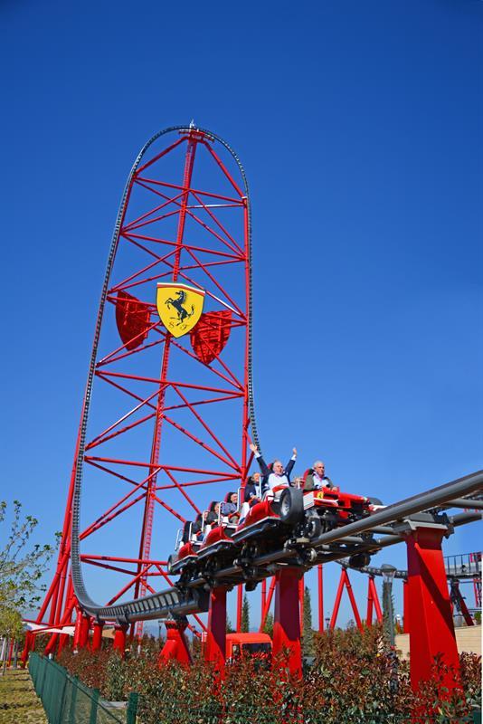 امتنع منطقيا تصرف Ferrari Land Roller Coaster Findlocal Drivewayrepair Com