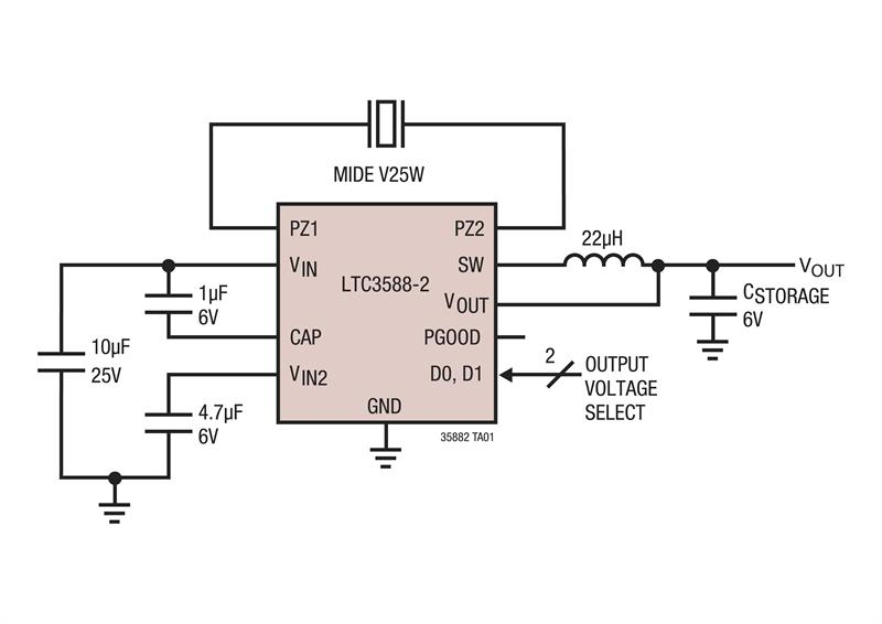 LTC3588-2 – typical application.