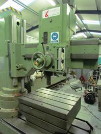 KITCHEN & WALKER KVM 50-1250 elevating column radial arm drill
