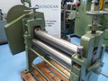 Morgan 36? x 5? Hand Operated Geared Bending Rolls
