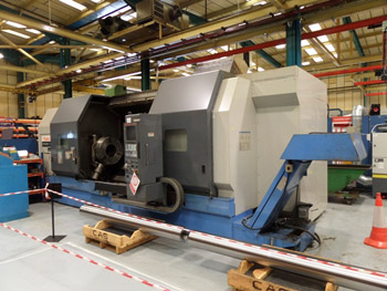 Mazak Integrex 70 CNC Hollow Spindle Lathe
