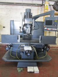 Clausing 3 Axis CNC Bed Mill
