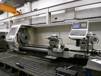 Hankook Protec 9NC Hollow Spindle Oil Country Lathe
