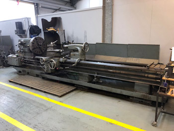 Dean Smith and Grace Type 30 X 144 Gap Bed Lathe