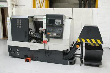 Leadwell LTC 20-B CNC Slant Bed Lathe