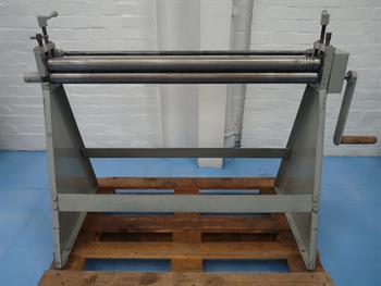 Morgan Rushworth 1 metre x 50mm diameter Hand Operated Bending Rolls
