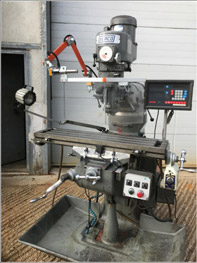 Semco turret milling machine