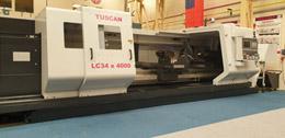 TUSCAN LC34 X 4000 CNC LATHE WITH FANUC Oi TD CONTROL