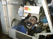 Working room of Mazak Super Quick Turn 200  machine