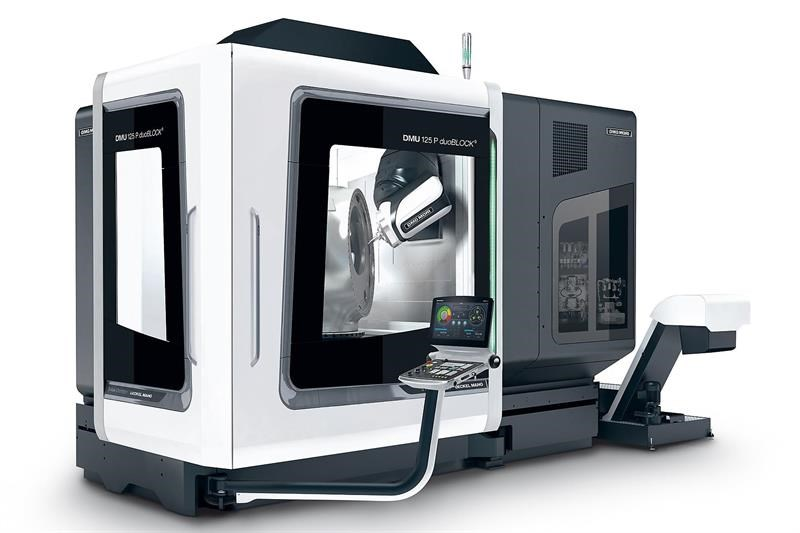 Machinery - DMG Mori DMU 125P duoBlock 5-axis machining centre