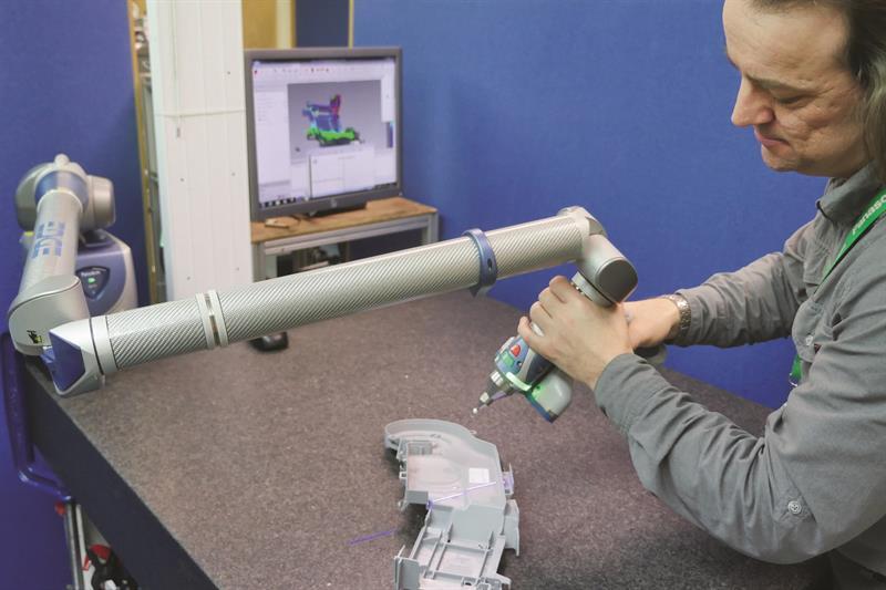 Machinery - Panasonic Manufacturing UK employs Faro Edge ScanArm to