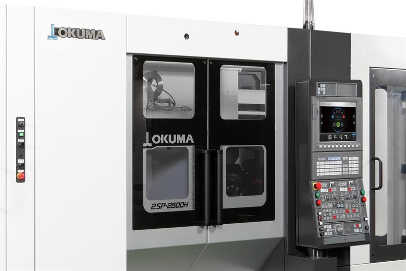Machinery - Okuma front-loaded, side-by-side twin-spindle 2SP-2500H