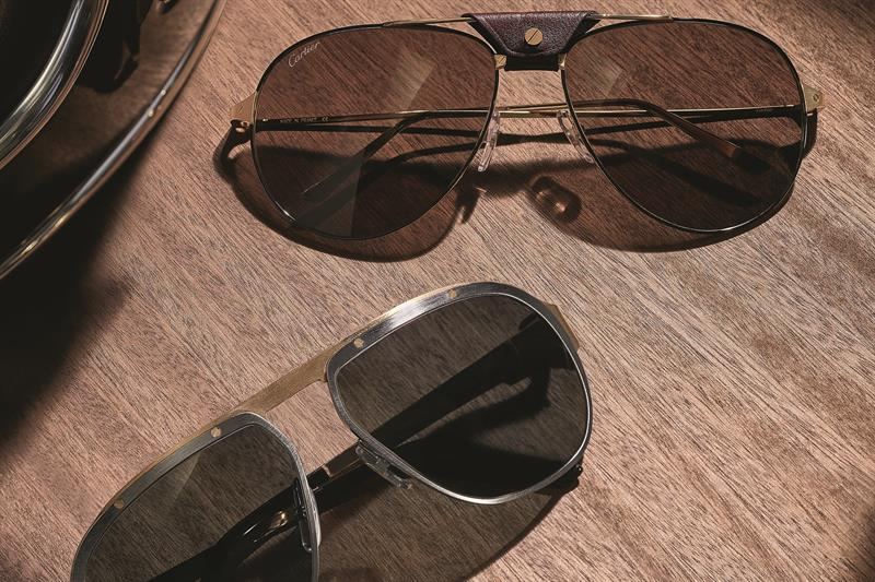 9f37ed7ed8cf Kering Eyewear and the Maison Cartier have shown that two heads are better  than one with their joint spring-summer 2018 collection.