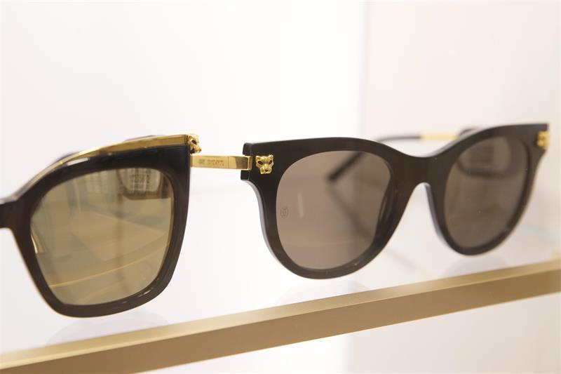 c4e3e10b4ce Cartier s latest look. Kering Eyewear has revealed Cartier s Panthère ...