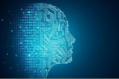 AI side profile of face