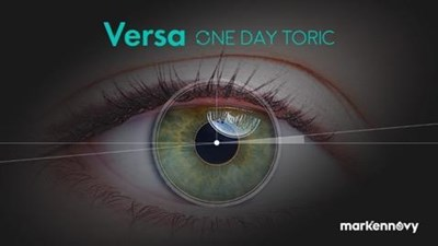 Versa One Day Toric lens