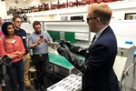 Tom Davies explains the production process
