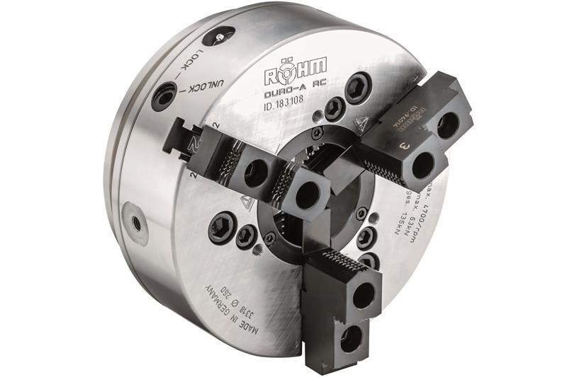 Duro-A RC offers high clamping accuracy and forces
