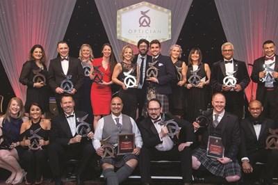 Last year's Optician Awards winners