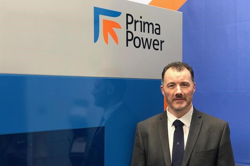 Barry Rooney is sales manager at Prima Power UK