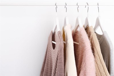Jumpers on hangers