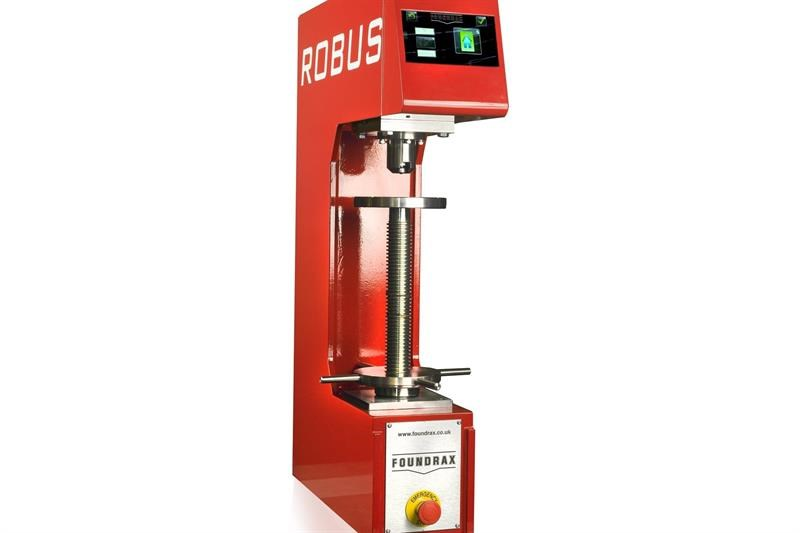 Robus delivers accurate Brinell hardness testing