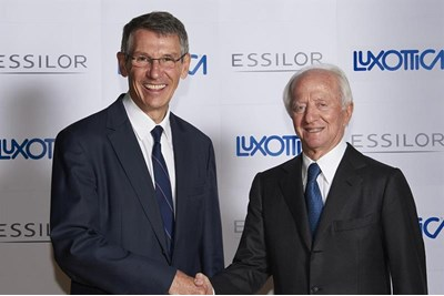 Picture of Essilor CEO and Luxottica founder