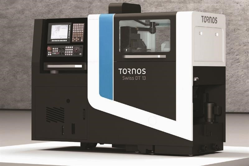 The Tornos Swiss DT13 offers 13 mm bar capacity